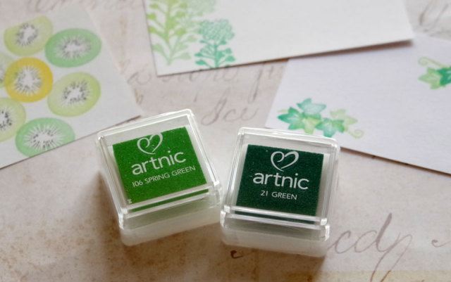 アートニックインク 緑系インク