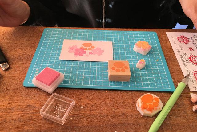 桜はんこ教室 nenem 作品